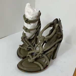 Alexander Wang Knotted Sandal strap 6 heels